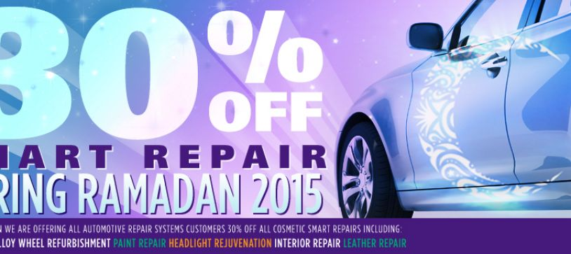 30% Off for all customers during Ramadan